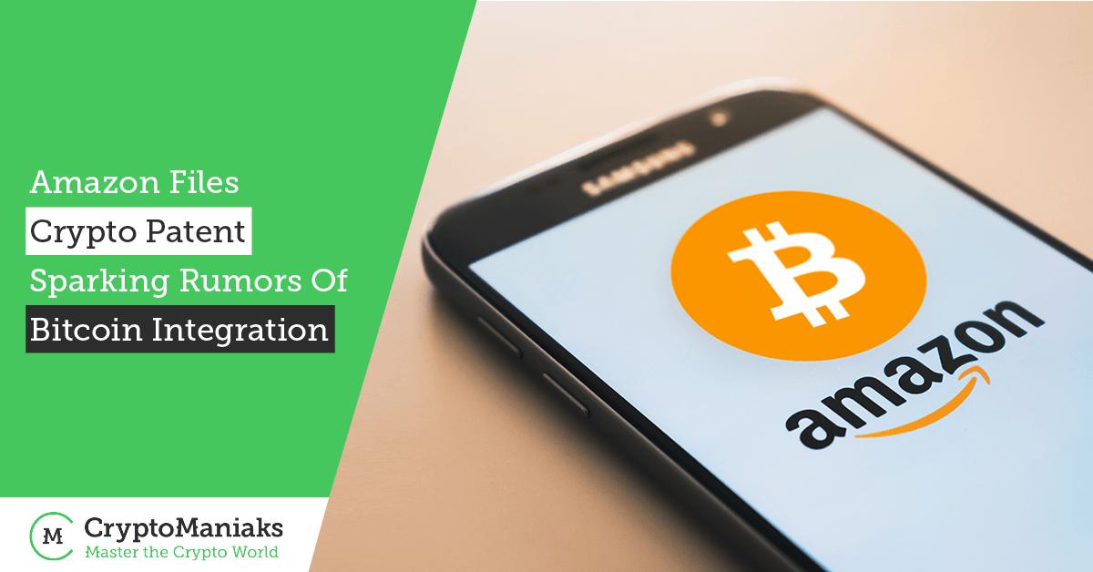 Amazon Files Crypto Patent, Sparking Rumors of Bitcoin Integration