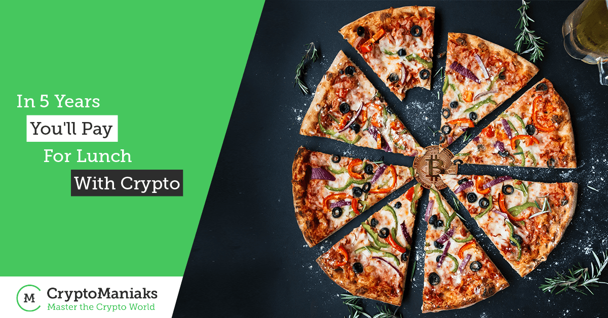 In 5 Years You'll Pay for Lunch with Crypto (says IMF Twitter)