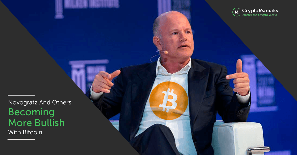 Novogratz and Others Becoming More Bullish With Bitcoin