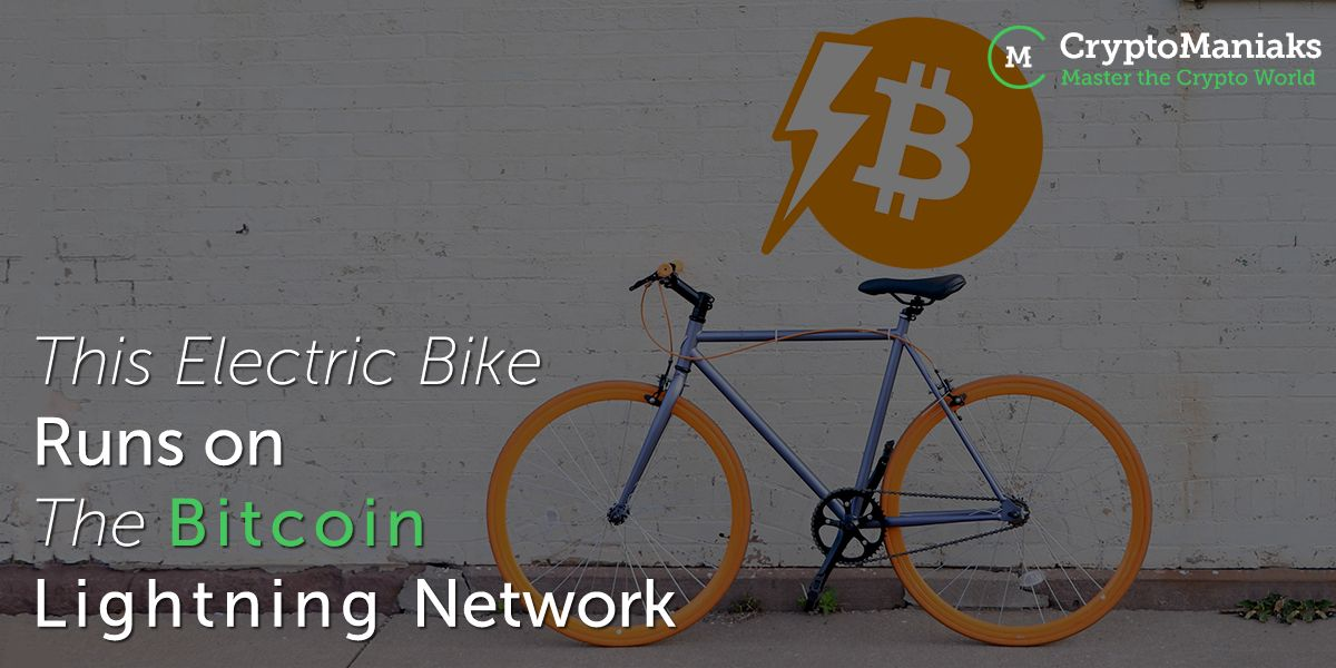 This Electric Bike Runs on the Bitcoin Lightning Network