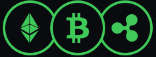 Different Cryptocurrency icons
